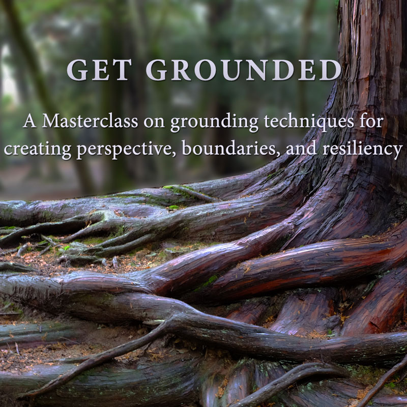 Get Grounded Masterclass - Amelia Vogler